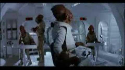 "Admiral Ackbar's ""It's a trap!"" scene"