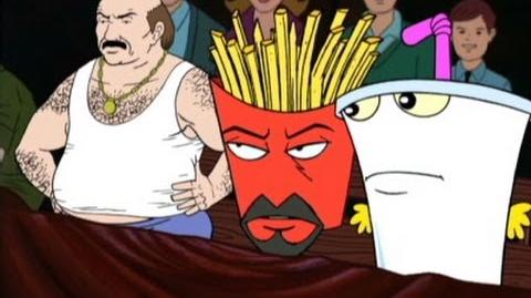 Aqua Teen Hunger Force Meat Mountain