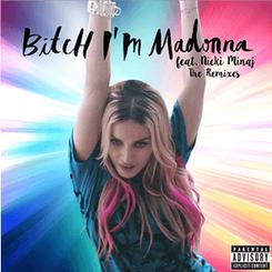 Bitch i'm madonna single cover