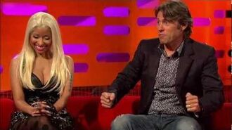 Nicki Minaj On The Graham Norton Show 2012 (Part 1)