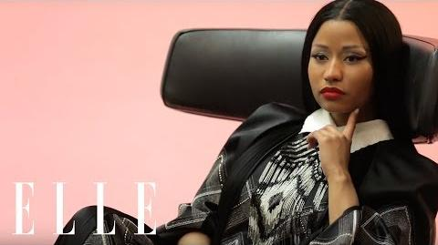 Nicki Minaj is Back in this ELLE Cover Shoot by Karl Lagerfeld ELLE