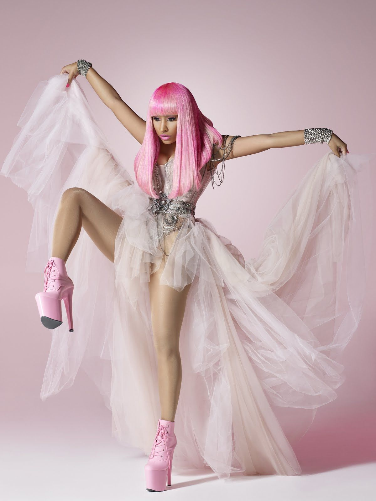 Nicki Minajs Pink Friday Album In Stores Now x Promo Photos