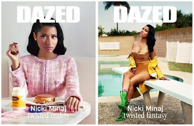 Nicki dazed double cover