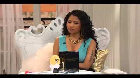 "HSN Nicki Minaj Exclusive Launch of Minajesty ""Exotic Edition"" Fragrance"