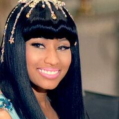 Nicki as Queen