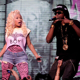 Performing together at the Nokia Theatre L.A. Live