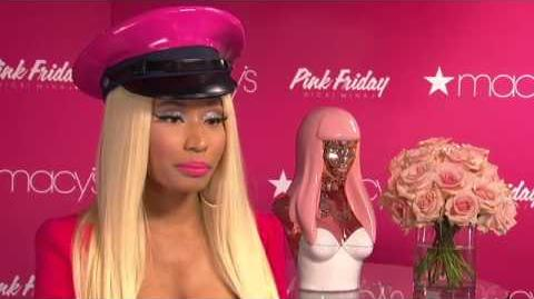 Nicki Minaj 'Pink Friday' Fragrance Launch