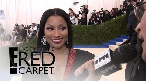 Nicki Minaj Talks New Music at 2017 Met Gala - E! Live from the Red Carpet