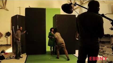Nicki Minaj- Magazine Photo Shoot Ebony