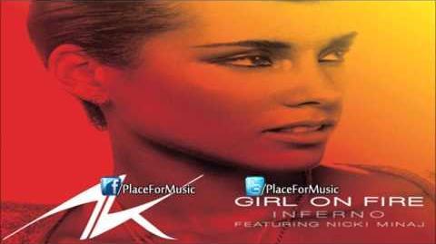 Alicia Keys - Girl On Fire ft. Nicki Minaj