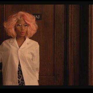 <i>Nicki as Dr. Minaj</i>