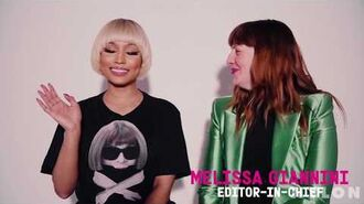 BTS Nicki Minaj NYLON Magazine 2016