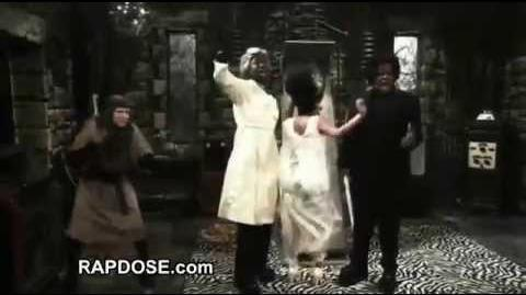 Nicki Minaj is the Bride of Blackenstein