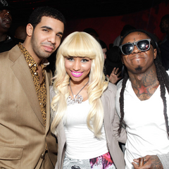 Drake, Nicki and Lil Wayne