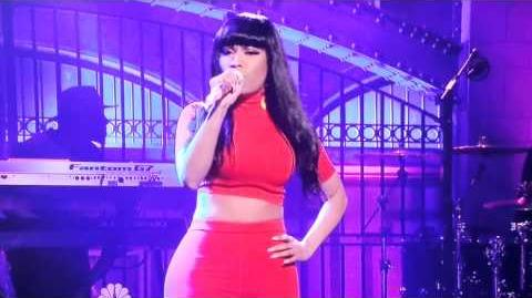 Nicki Minaj bed of lies on SNL December 6th, 2014