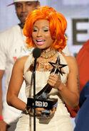 BET Awards 2010 Nicki Minaj won