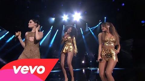 Jessie J, Ariana Grande, Nicki Minaj - Bang Bang (2014 American Music Awards)