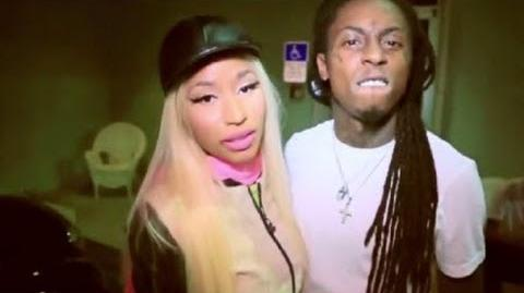 Lil Wayne Messing With Nicki Minaj