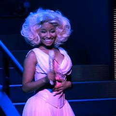 Nicki goes full-on <a href=