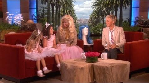 Nicki Minaj and Sophia Grace & Rosie Reunite!