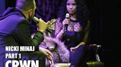 CRWN w Elliott Wilson Ep. 15 Pt. 1 of 2 Nicki Minaj