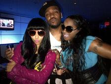 Nicki, Terrence, and Foxy