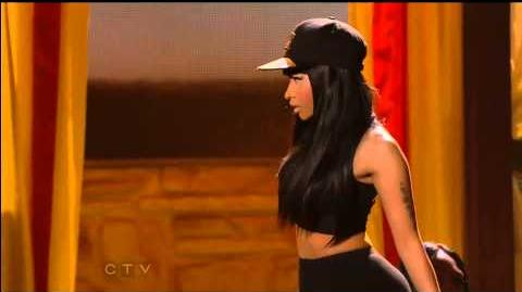"Nicki Minaj ""High School"" ft. Lil Wayne Billboard Music Awards 2013"