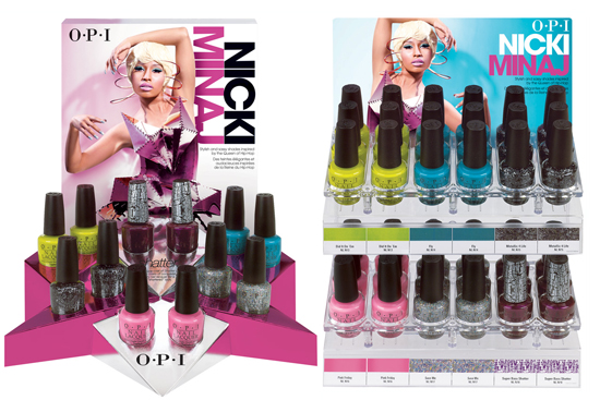 Nicki Minaj Opi Nail Lacquer Collection 2017 2