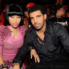 Drake and Nicki at the 2011 BET Awards