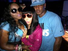Cam'ron, Nicki, and Foxy