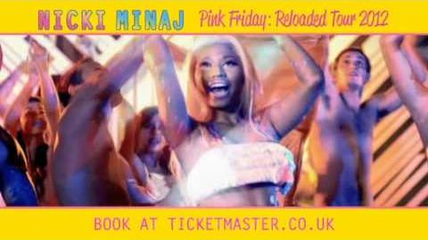 Nicki Minaj - Pink Friday Reloaded UK Tour Teaser