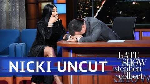 UNCUT- The Nicki Minaj Interview With Stephen Colbert