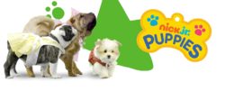 Nick Jr. Puppies Header