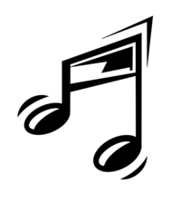 A funny music note 000