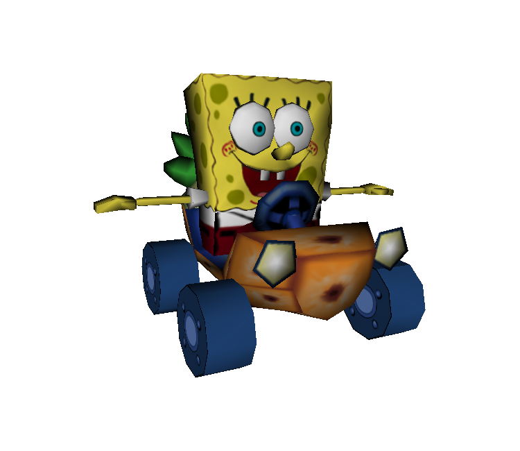 Image Nicktoons Racing Spongebob Squarepants Png