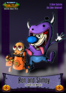 Nicktoons ren and stimpy halloween costume by neweraoutlaw-d62x54w