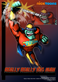 Nicktoons really really big man by neweraoutlaw-d56roqx