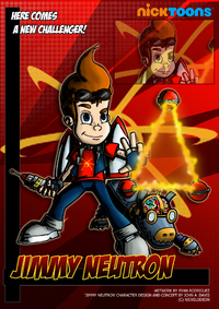 Nicktoons jimmy neutron by neweraoutlaw-d5b9elu