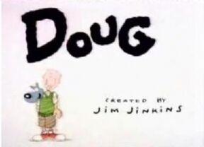 Doug Cartoon Title Card