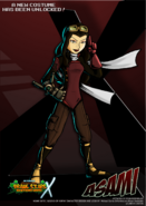 Nicktoons asami alternate costume by neweraoutlaw-d6qiol7