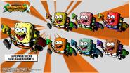 Nicktoons spongebob squarepants palette swap by neweraoutlaw-d5qom0m