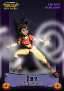 Nicktoons korra halloween costume by neweraoutlaw-d5unu3v