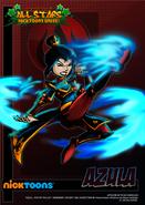 Nicktoons azula alternate artwork by neweraoutlaw-d5cod11