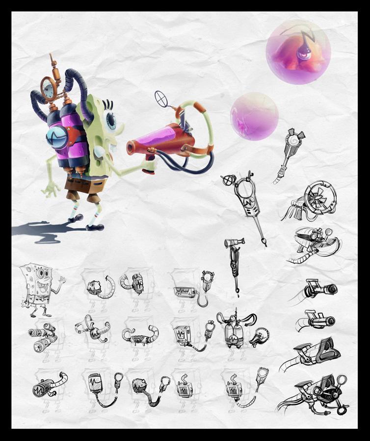 Image - Spongebob render.jpg   Cartoon Crossover Wiki   FANDOM ...