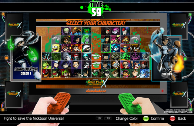 File:Nicktoons select your heroes x box 360 version by neweraoutlaw-d64t3fq.png