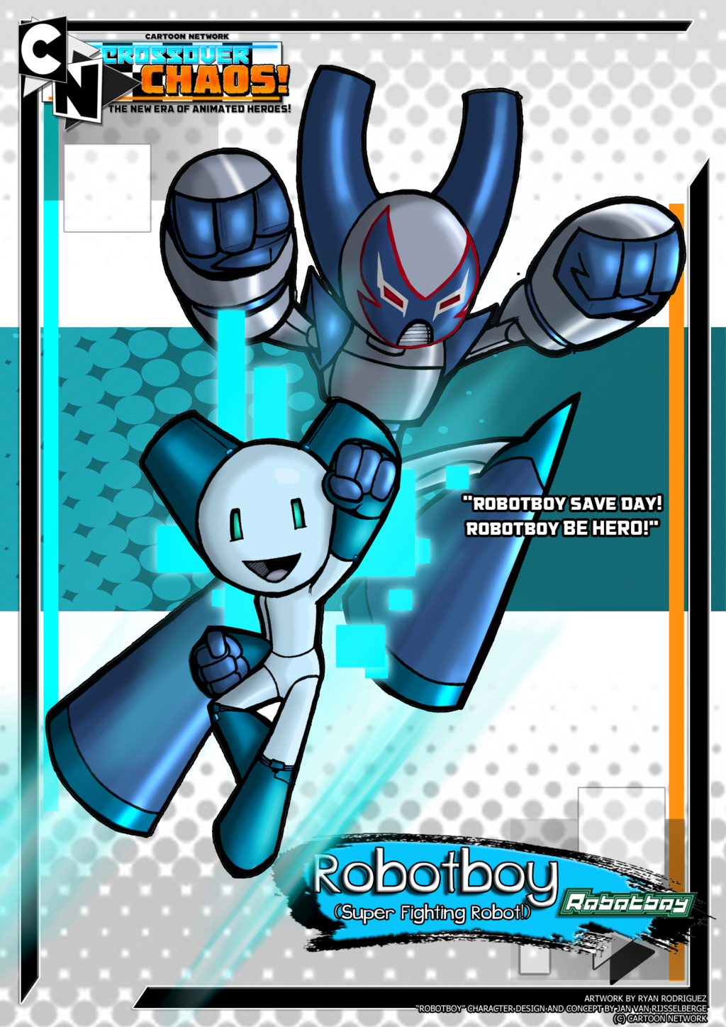 Robotboy Character Cartoon Crossover Wiki Fandom Powered By Wikia