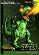 Nicktoons reptar alternate costume by neweraoutlaw-d6609ij