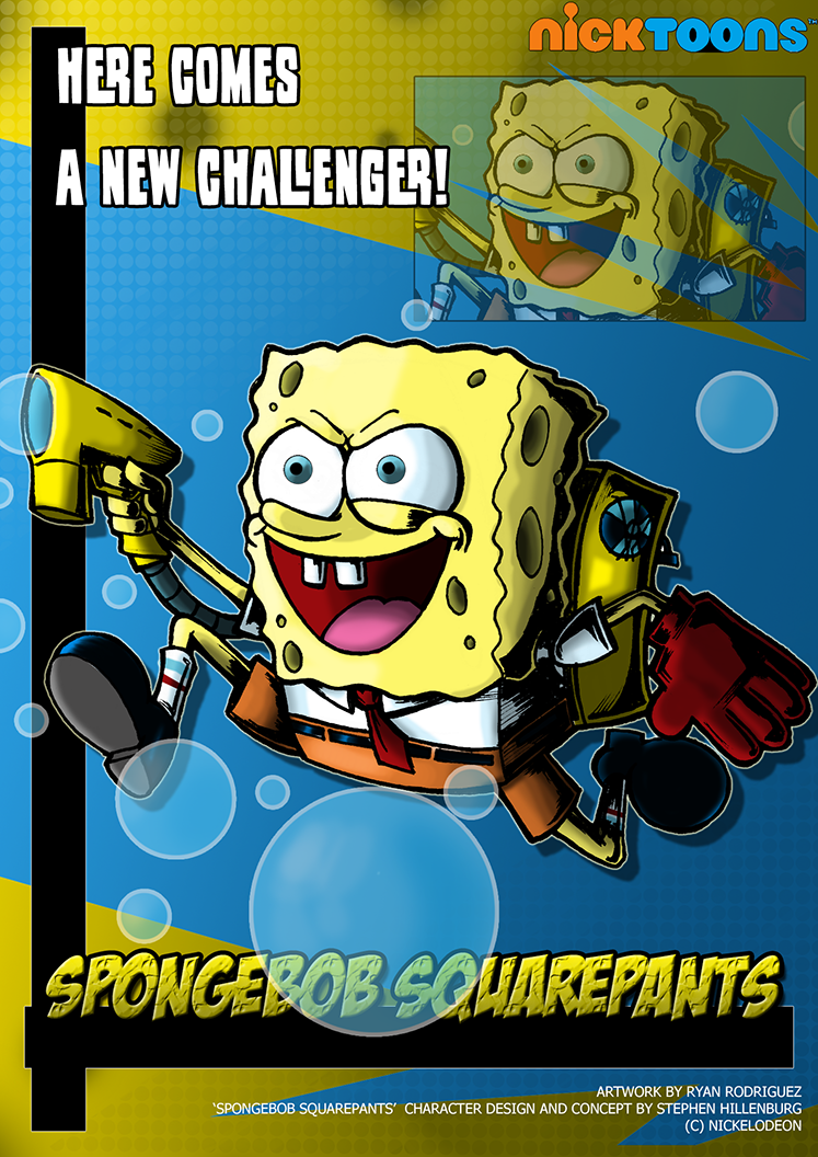 image nicktoons spongebob squarepants by neweraoutlaw d597zq8