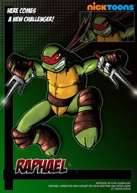 Nicktoons raphael by neweraoutlaw-d564wyi