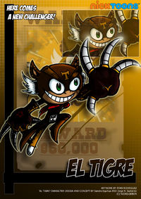 Nicktoons el tigre by neweraoutlaw-d571ple
